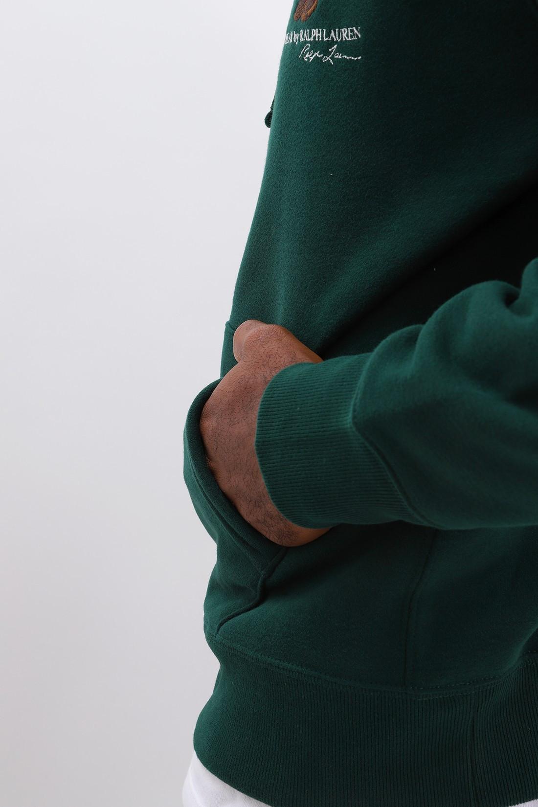 POLO RALPH LAUREN / Teddy bear hooded sweat Green