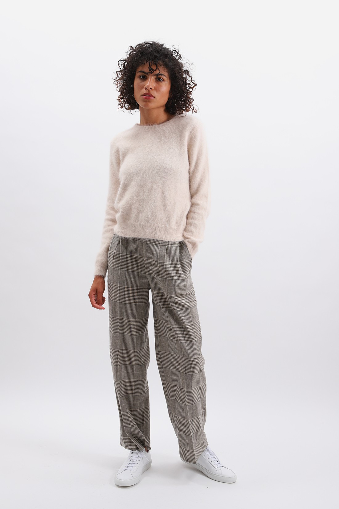 BELLEROSE FOR WOMAN / Verre pant Check a