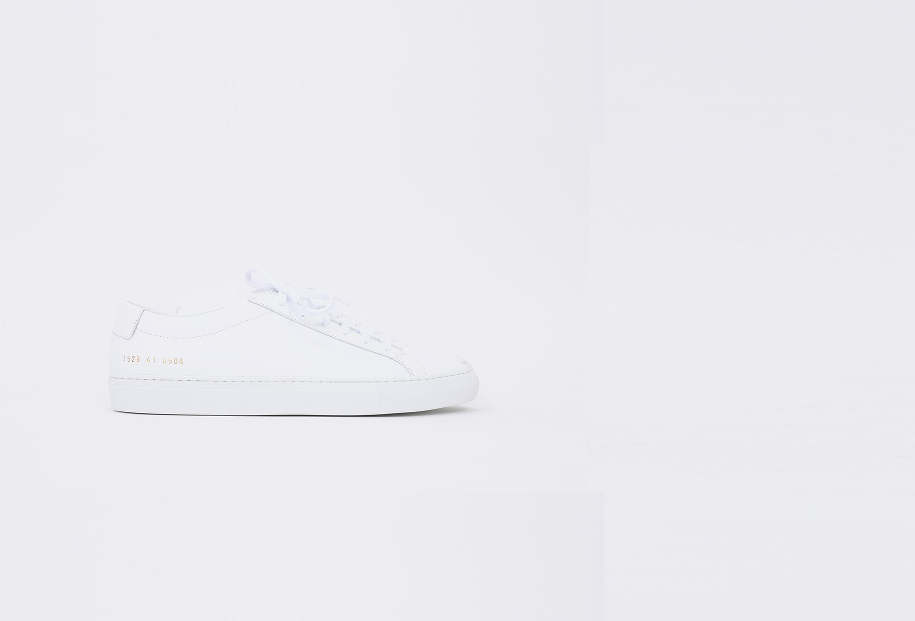 COMMON PROJECTS / Original achilles low 1528 White 0506