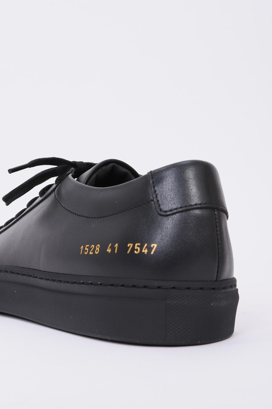 COMMON PROJECTS / Original achilles low 1528 Black 7547