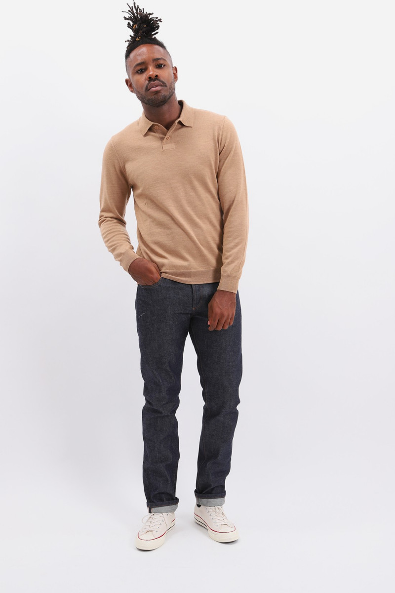 Polo jerry Beige