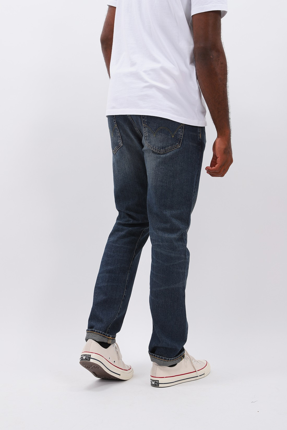 EDWIN / Ed-80 yoshiko left hand denim Nyoko wash