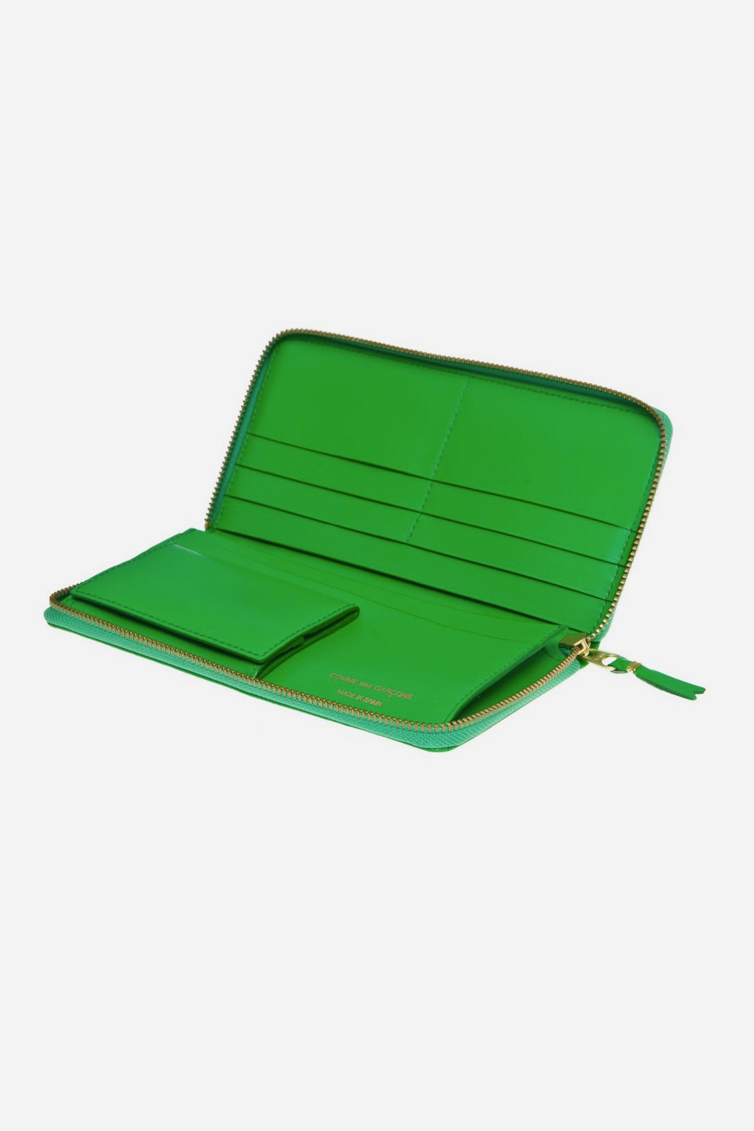 CDG WALLETS FOR WOMAN / Cdg classic leather sa0110 Green