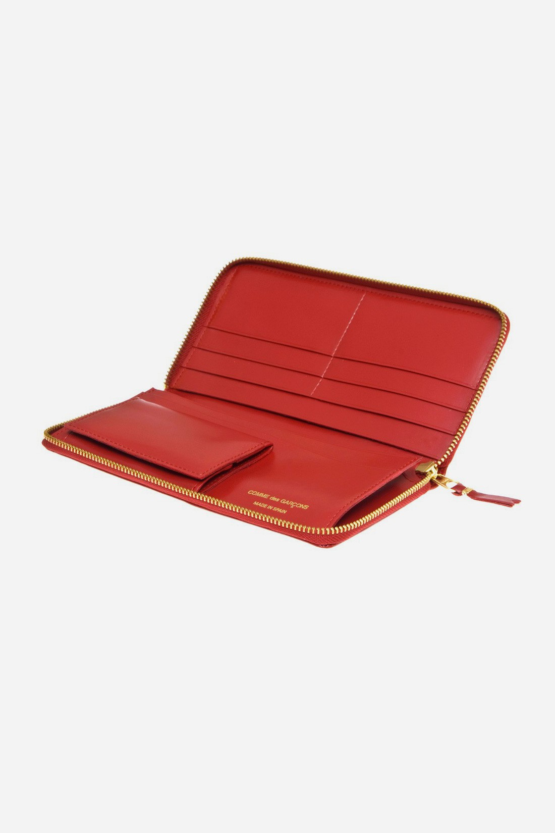 CDG WALLETS FOR WOMAN / Cdg classic leather sa0110 Red