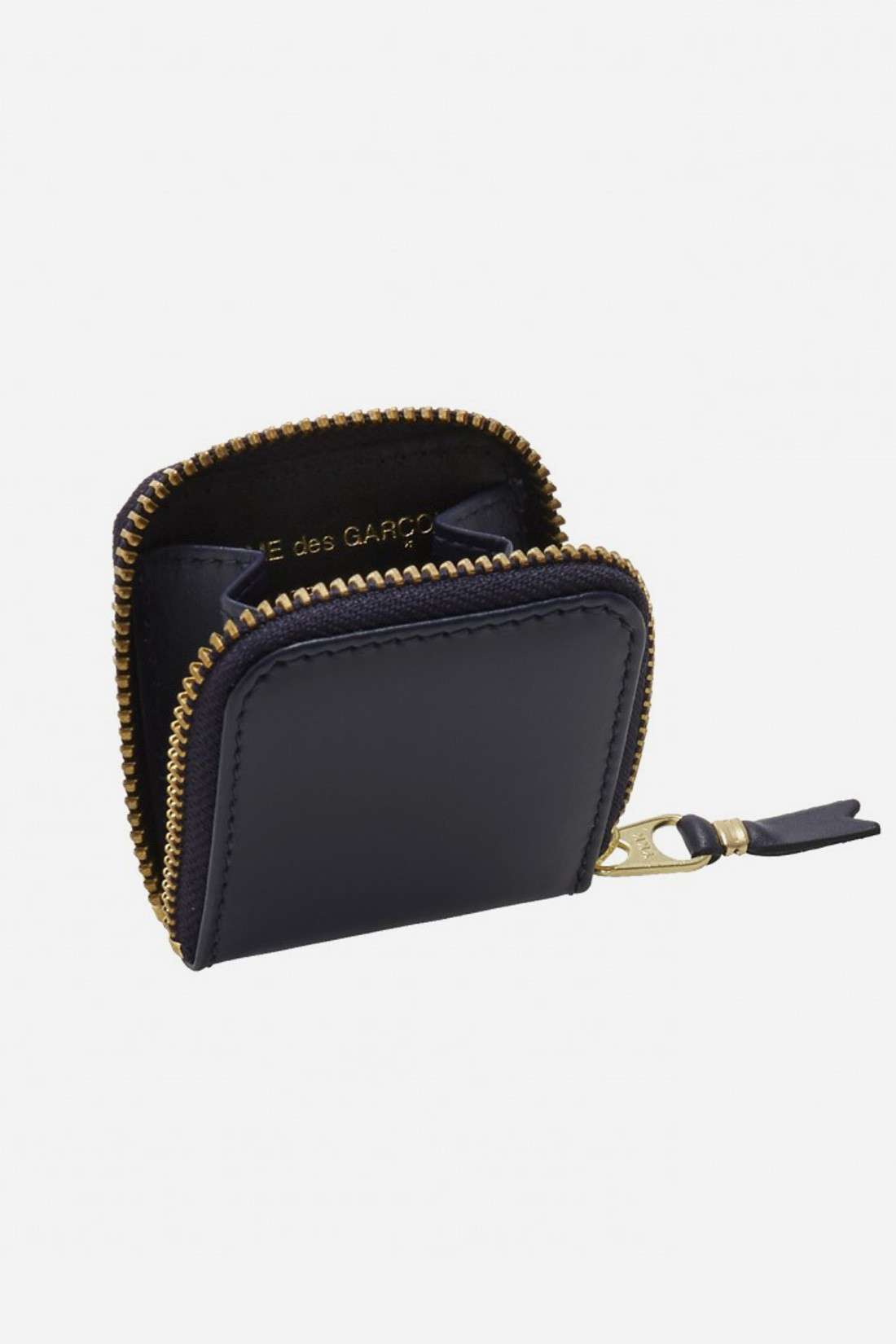CDG WALLETS FOR WOMAN / Cdg classic leather sa4100 Navy