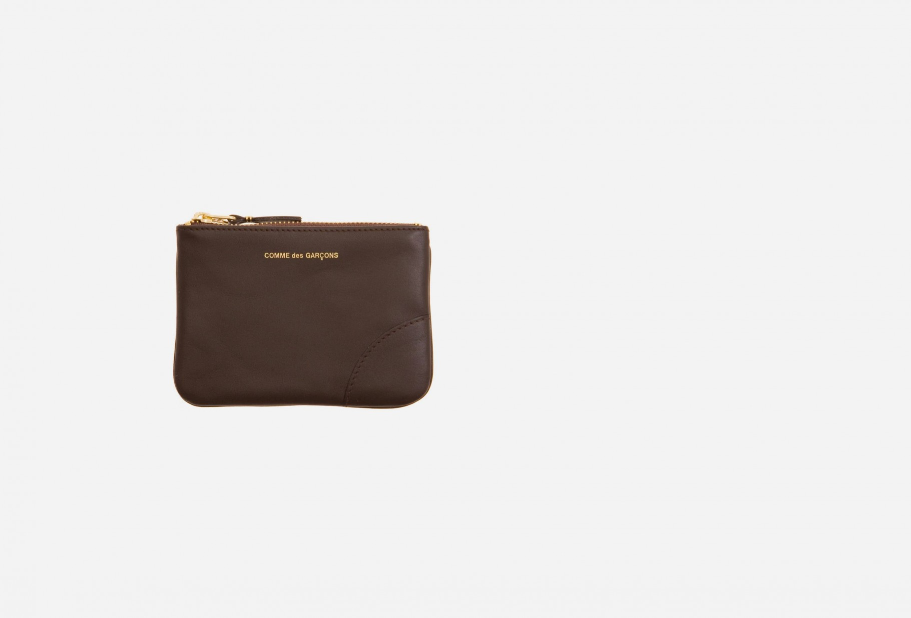 CDG WALLETS FOR WOMAN / Cdg classic leather sa8100 Brown