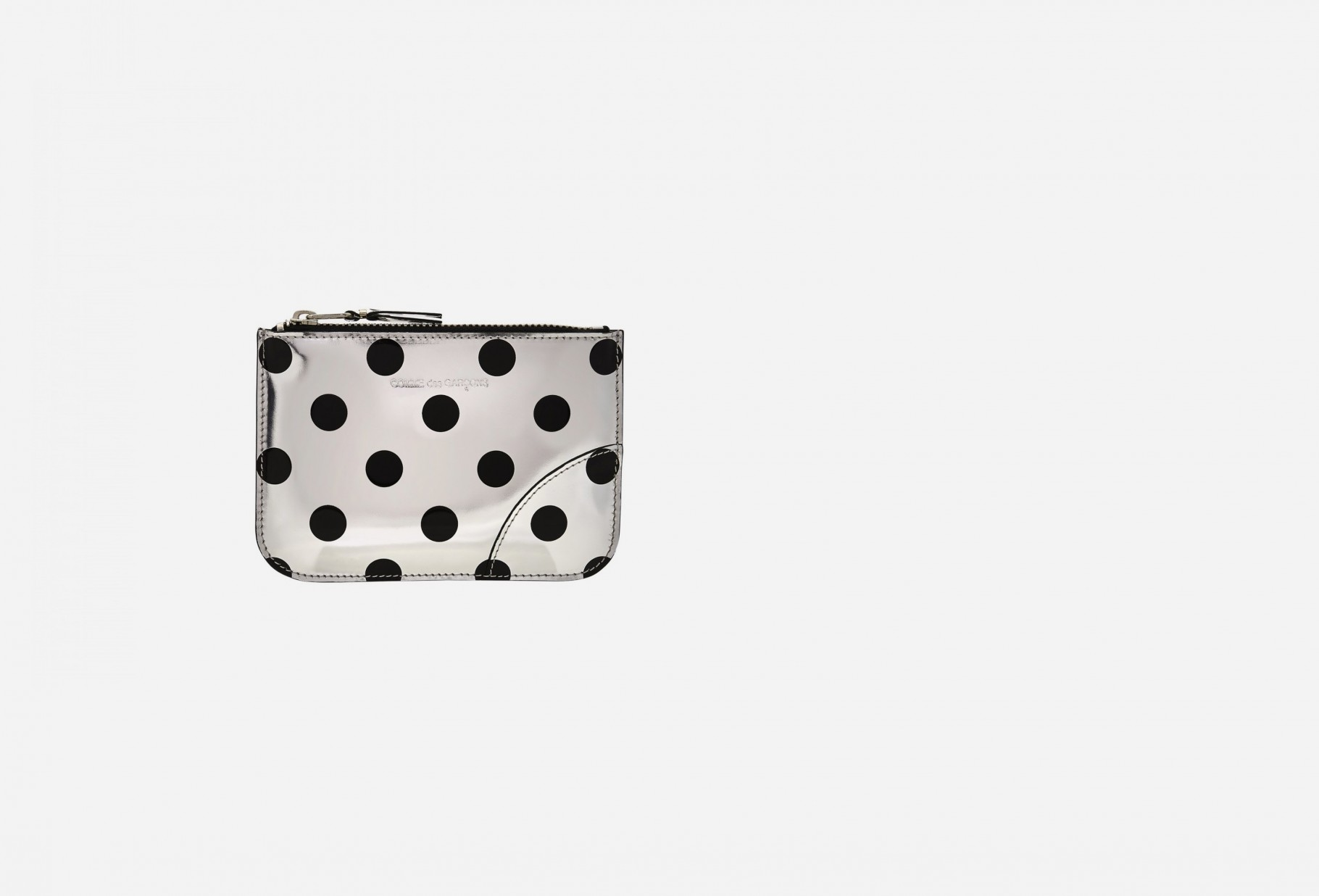 CDG WALLETS FOR WOMAN / Cdg optical sa8100ga dot Silver