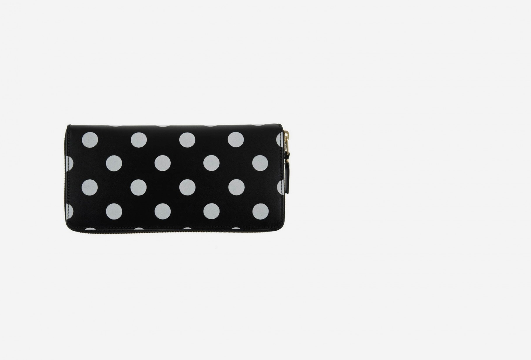 CDG WALLETS FOR WOMAN / Cdg polka dots sa0110pd Black