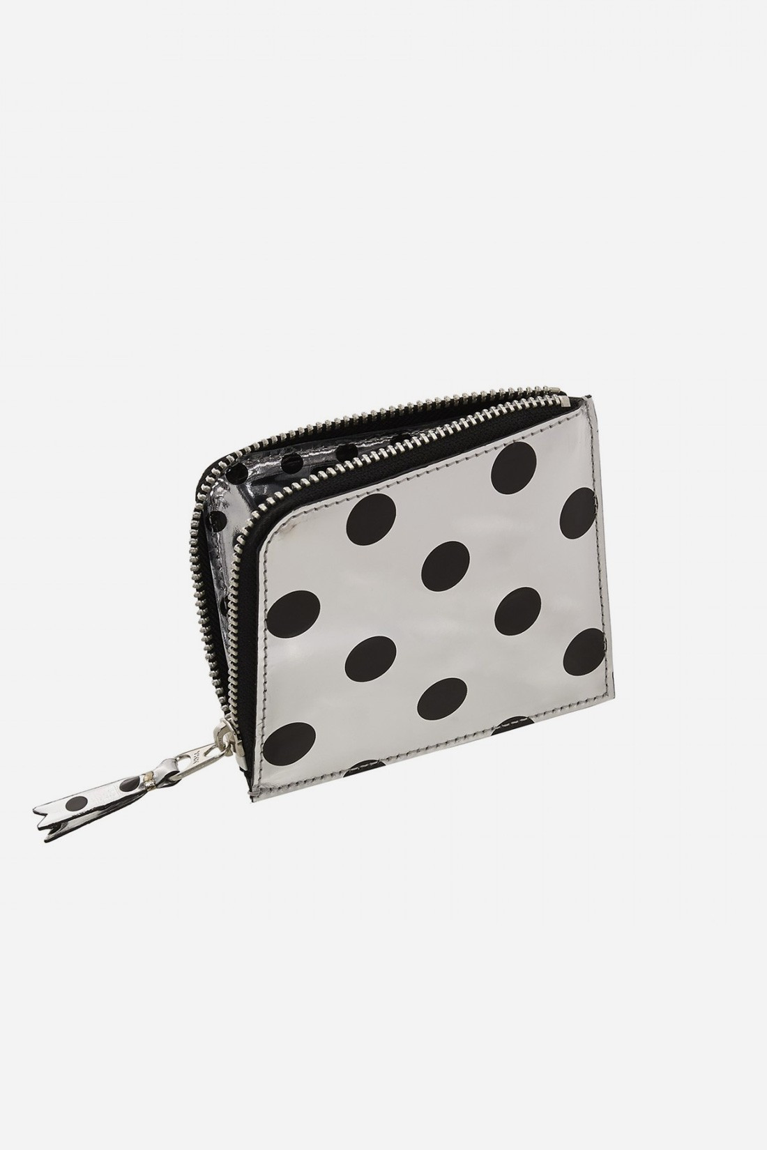 CDG WALLETS FOR WOMAN / Cdg optical sa3100ga dot Silver