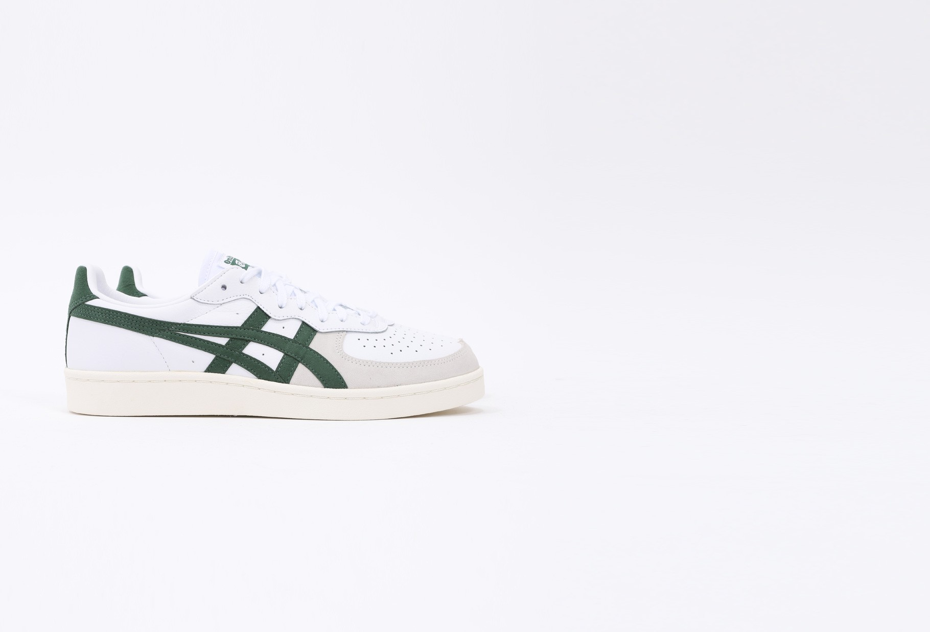ASICS / Gsm White/hunter green