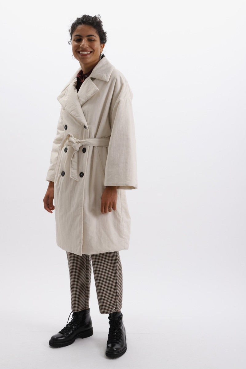 Coat adelma Latte
