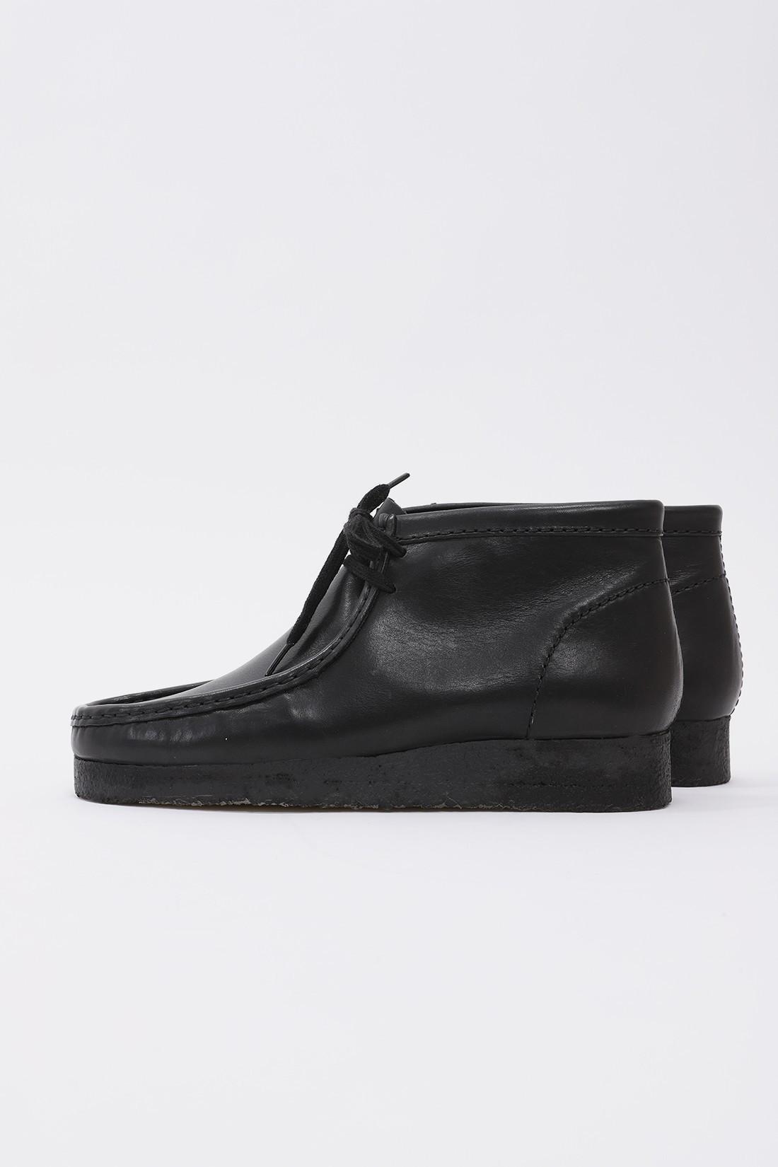 CLARKS ORIGINALS / Wallabee boot Black leather