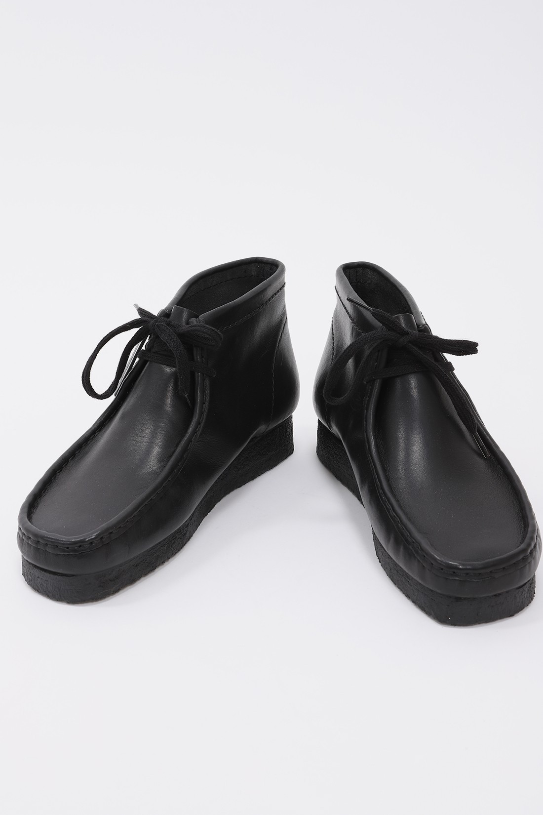 CLARKS ORIGINALS / Wallabee boot Black leather