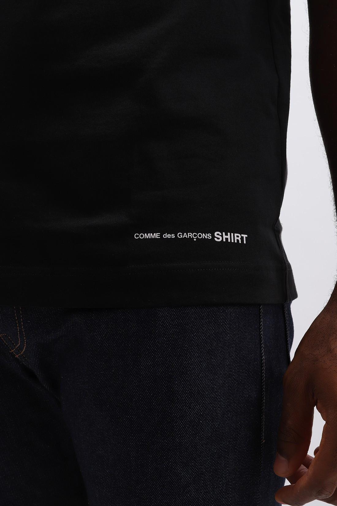 COMME DES GARÇONS SHIRT / W27111 classic ss tee Black