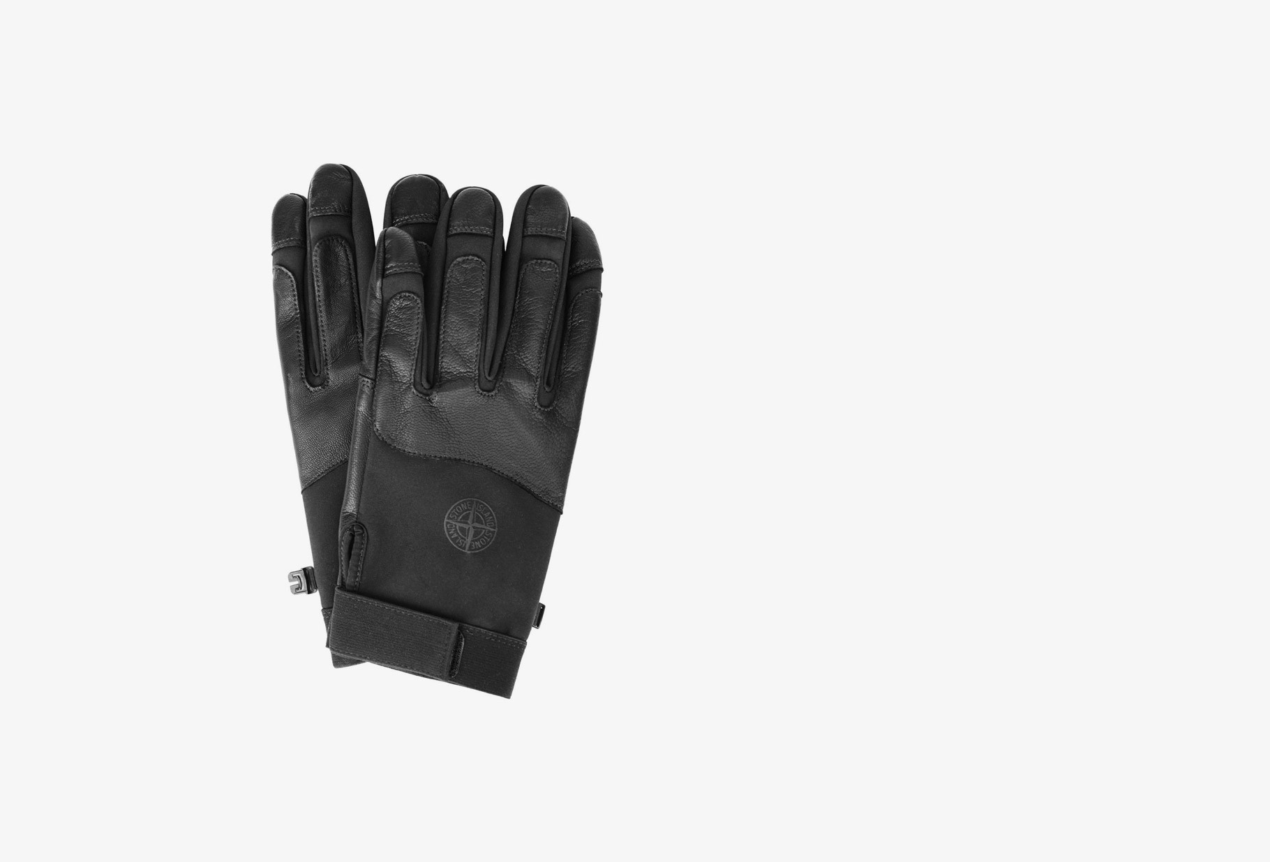 STONE ISLAND / 92174 gloves soft shell r V0029 nero