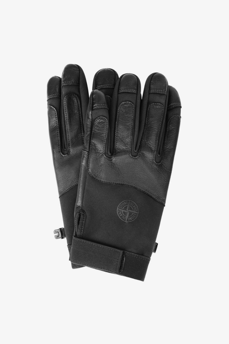 92174 gloves soft shell-r V0029 nero