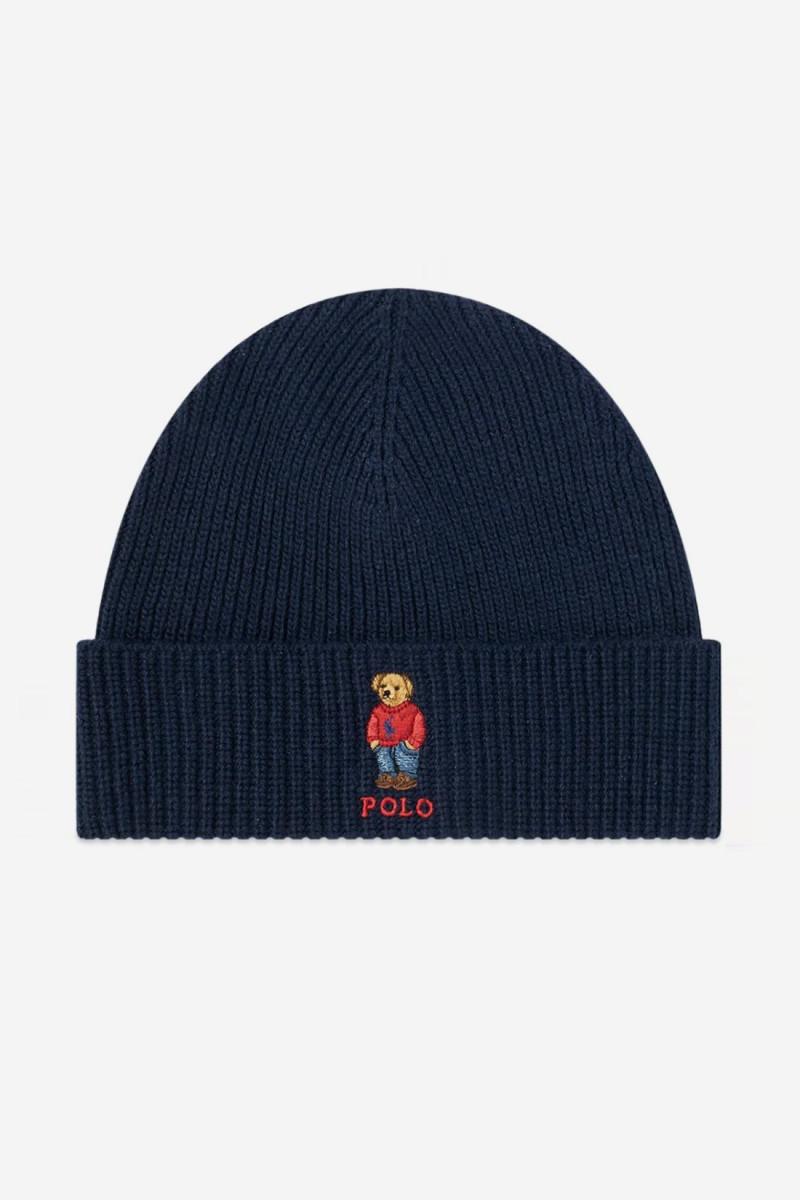 Polo bear hat Navy