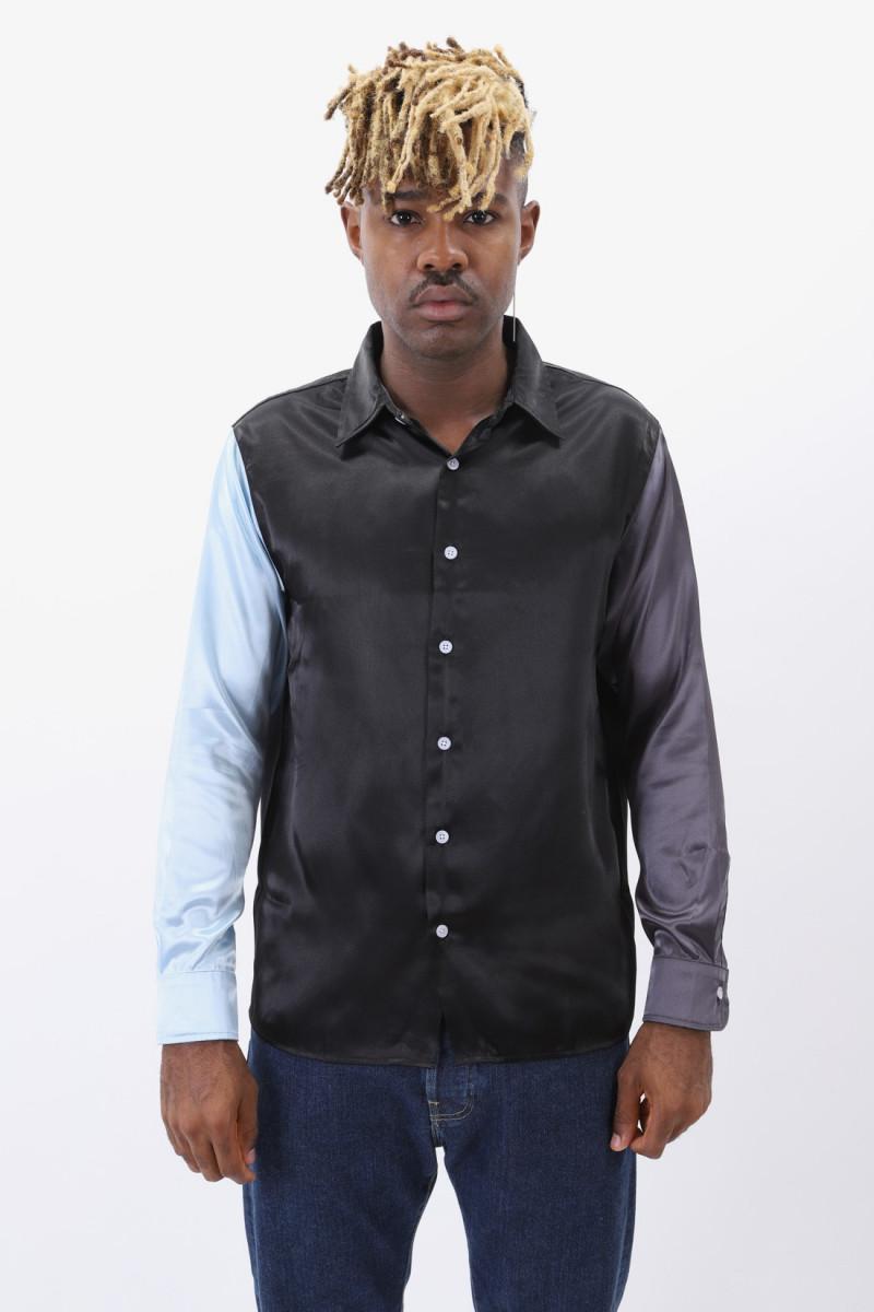 The downtown shirt Black / blue / grey