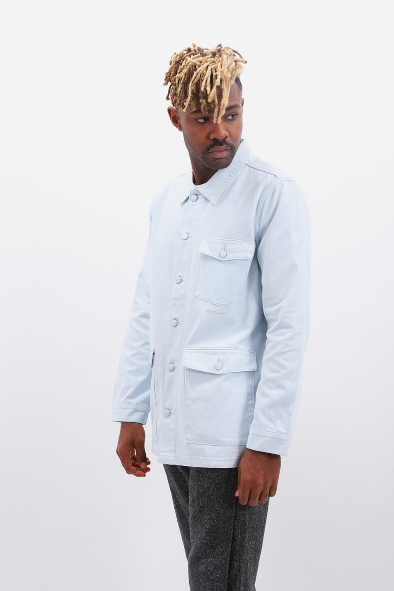 Denim work jacket Illusion blue