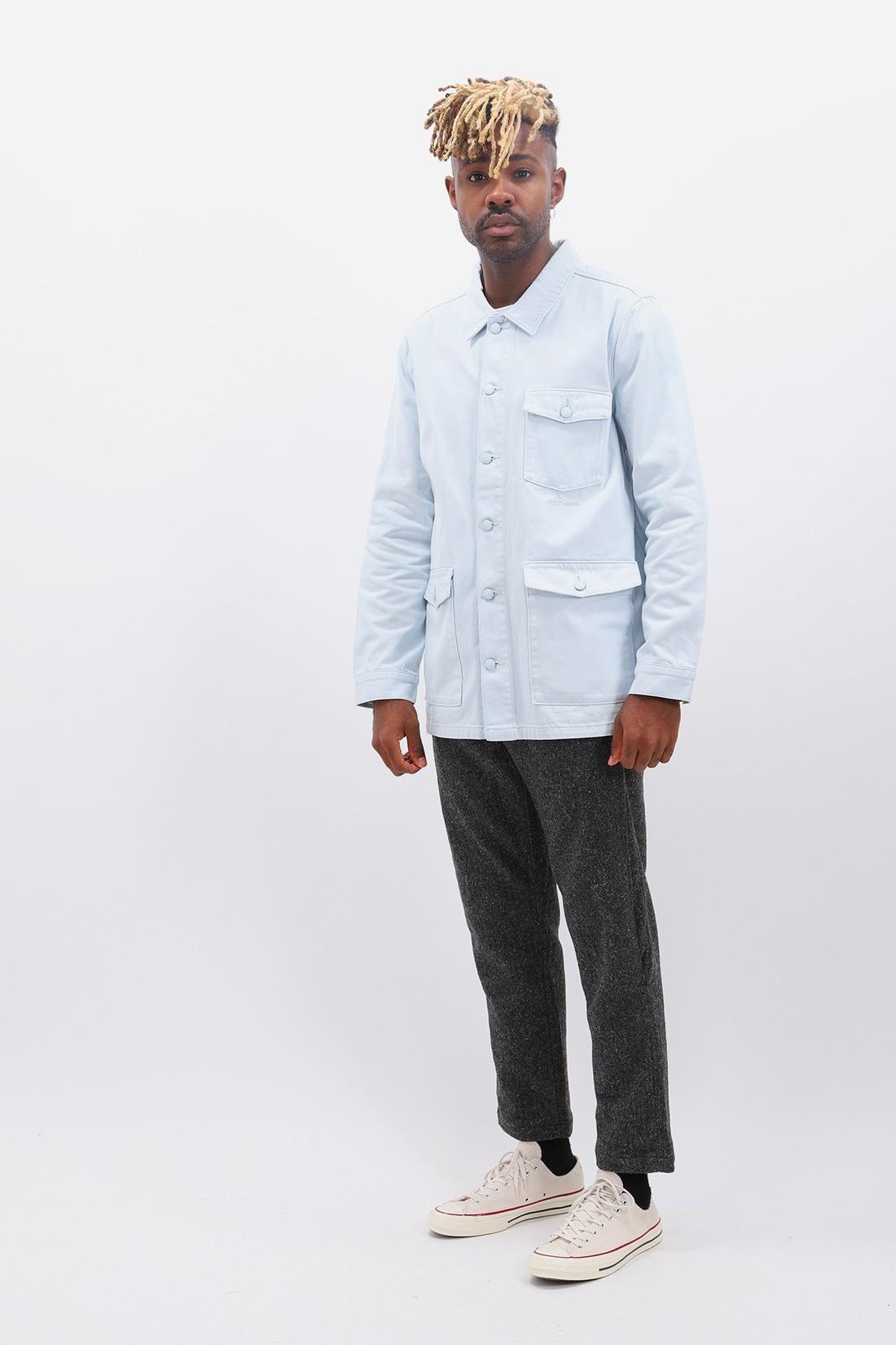 M.C.OVERALLS / Denim work jacket Illusion blue