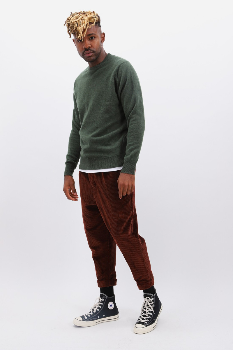 Lambswool jumper crew neck Rosemary