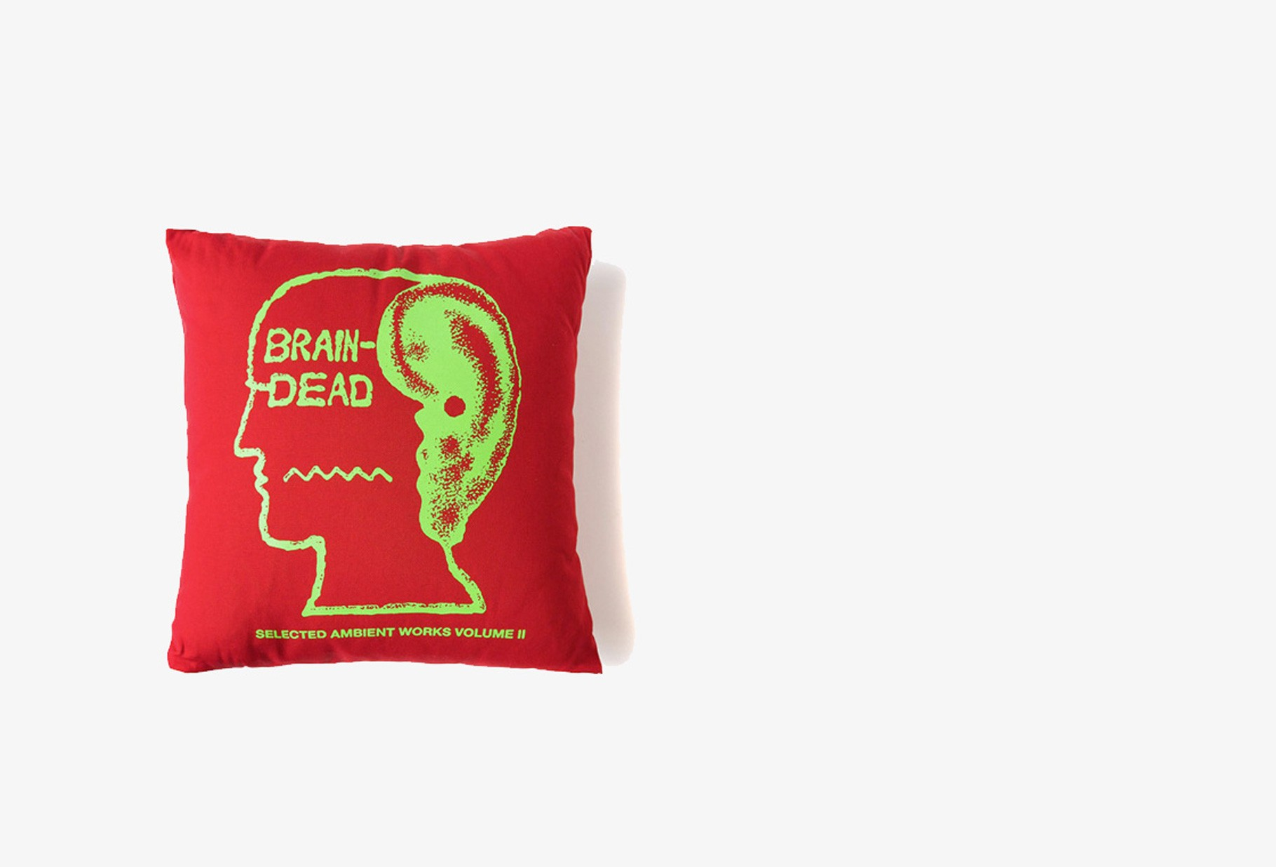 BRAIN DEAD / Bd ambient pillow Red