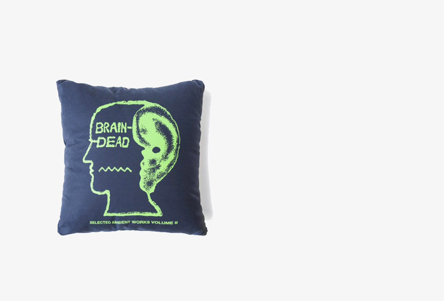 BRAIN DEAD / Bd ambient pillow Navy