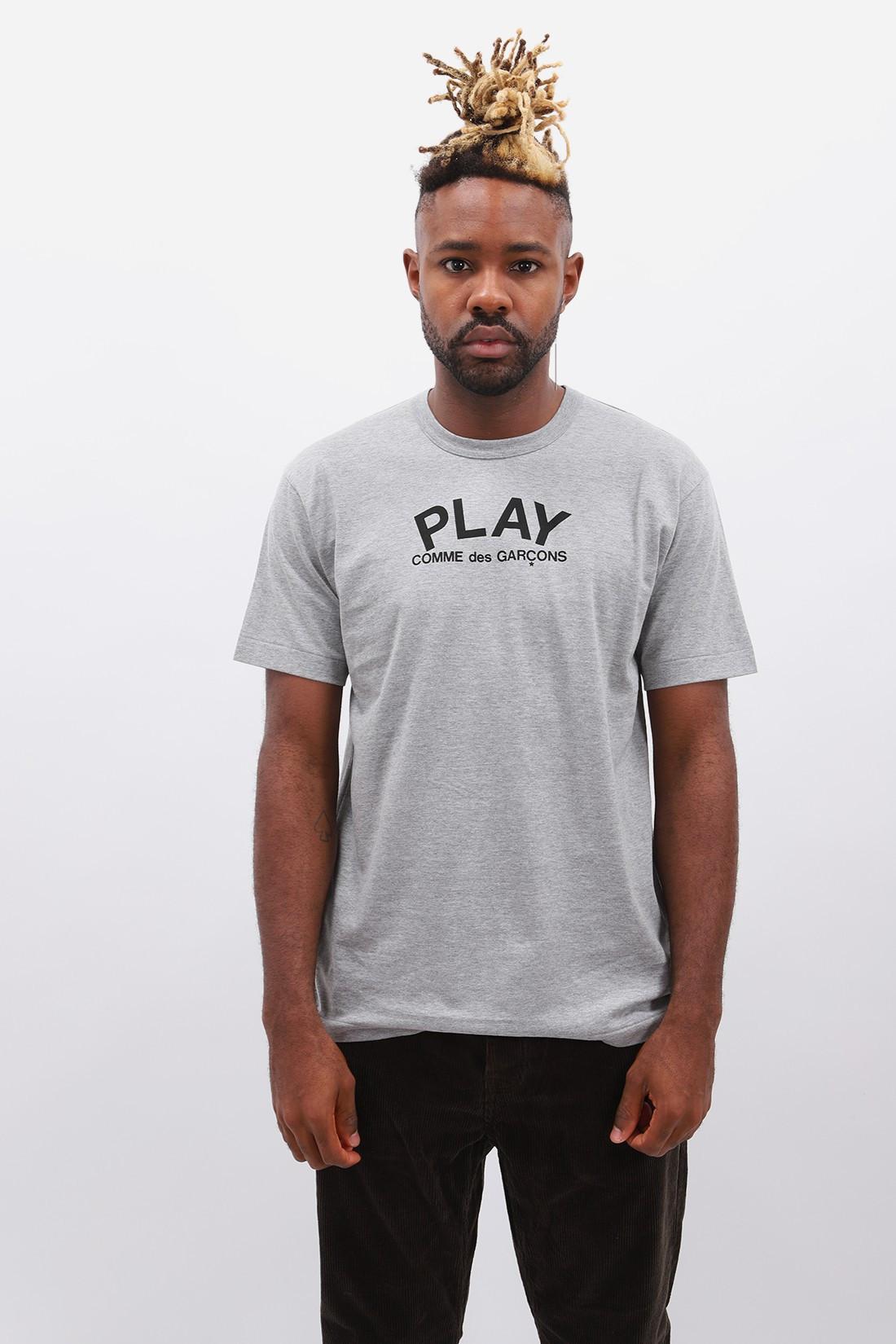 COMME DES GARÇONS PLAY / Play comme des garçons t-shirt Grey