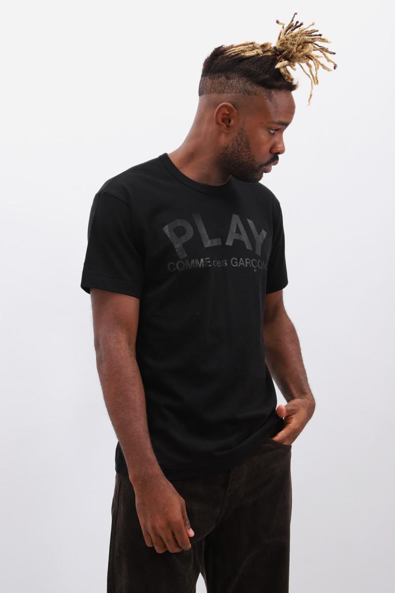 Play comme des garçons t-shirt Black