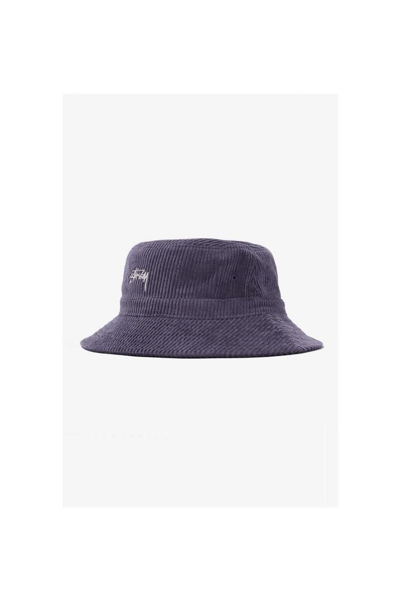 Corduroy bucket hat Lavender