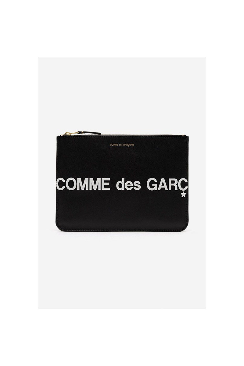 Cdg huge logo wallet sa5100 Black