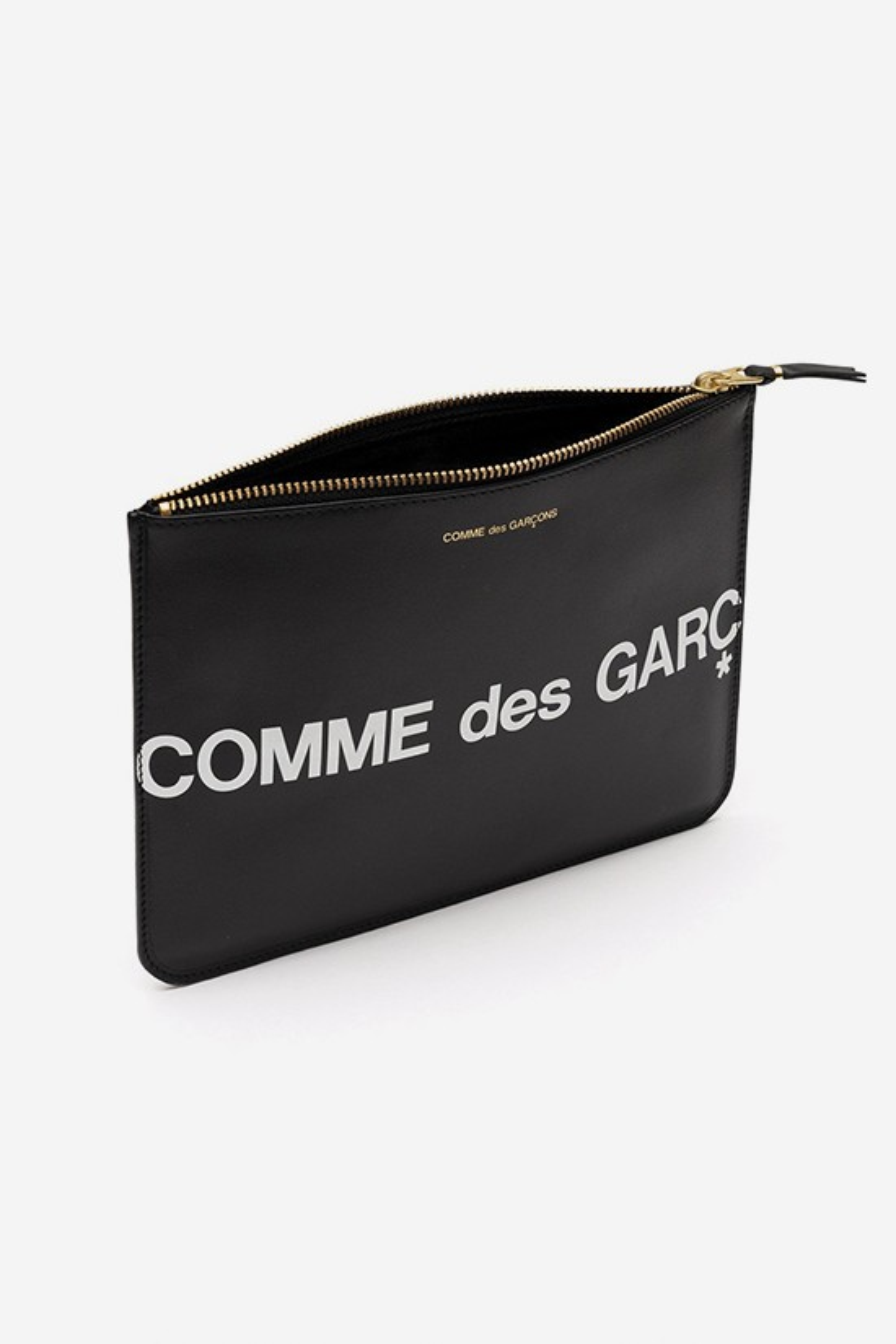 CDG WALLETS / Cdg huge logo wallet sa5100 Black