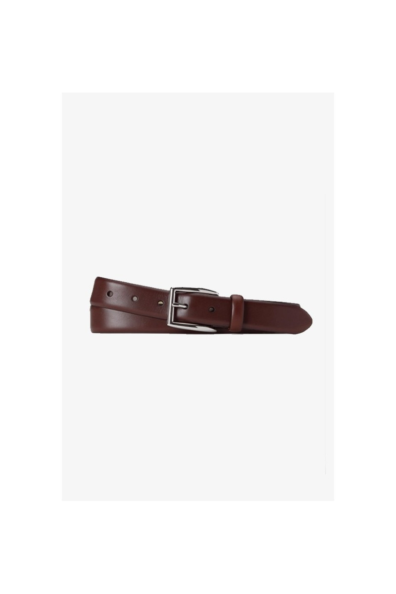 Polo classic leather belt Brown