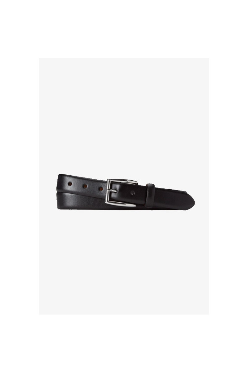 Polo classic leather belt Black