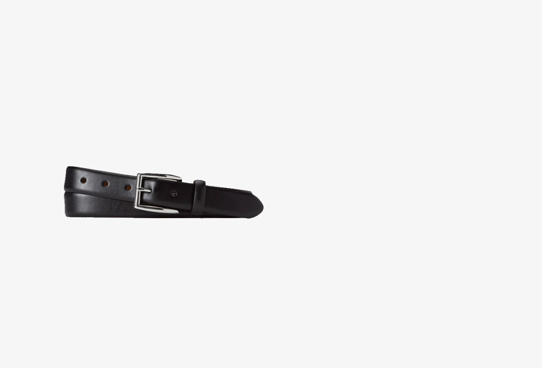 POLO RALPH LAUREN / Polo classic leather belt Black