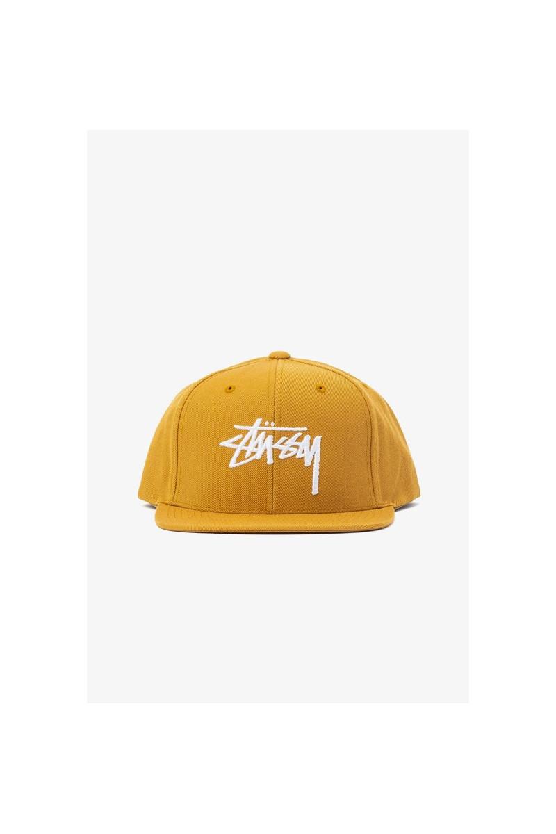 Stock cap Mustard