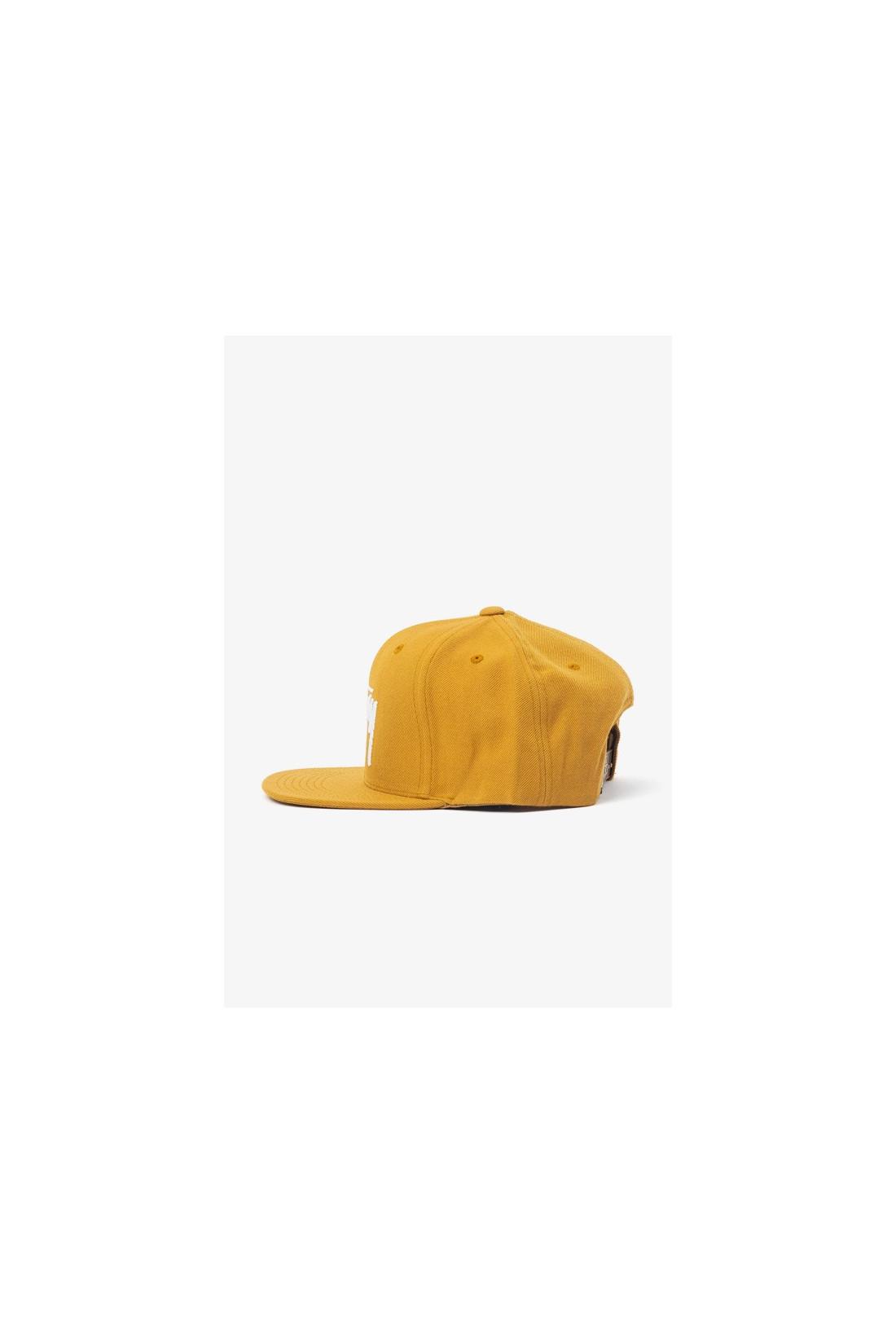STUSSY / Stock cap Mustard
