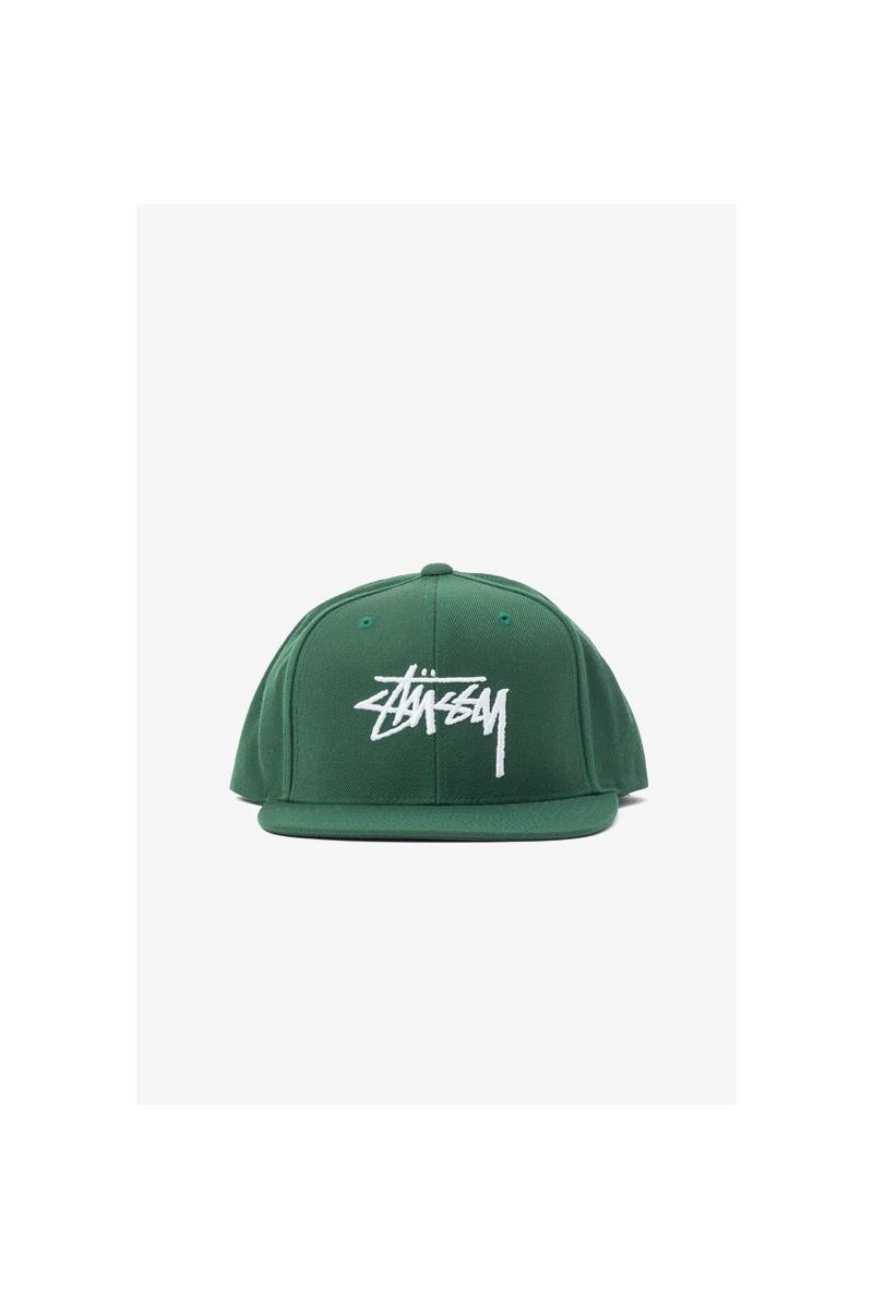 Stock cap Green