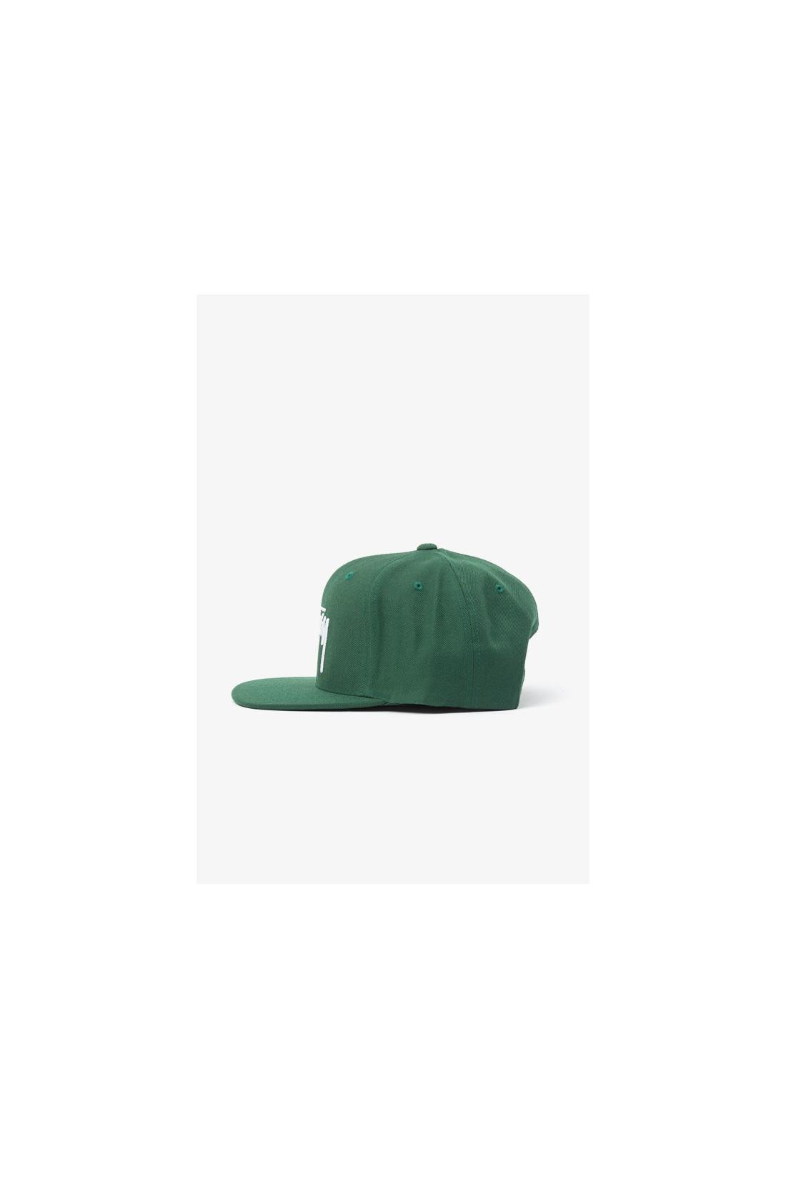 STUSSY / Stock cap Green