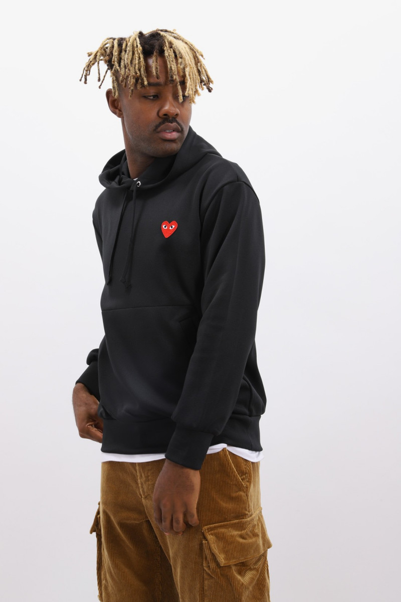 Play hooded sweatshirt Black