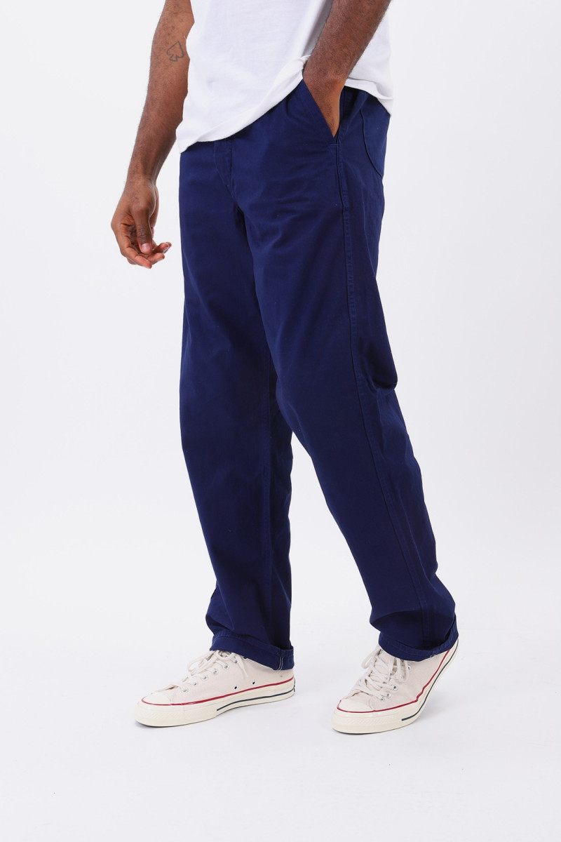 French work pant Blue
