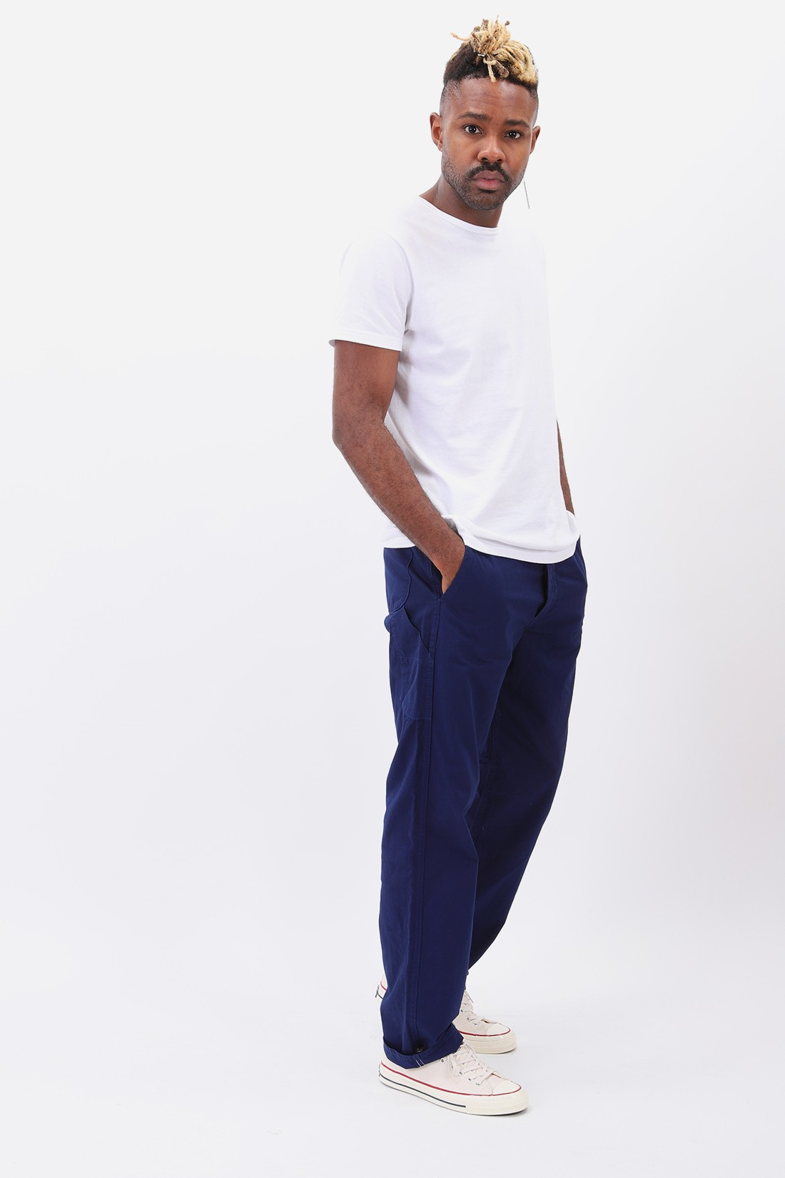 ORSLOW / French work pant Blue