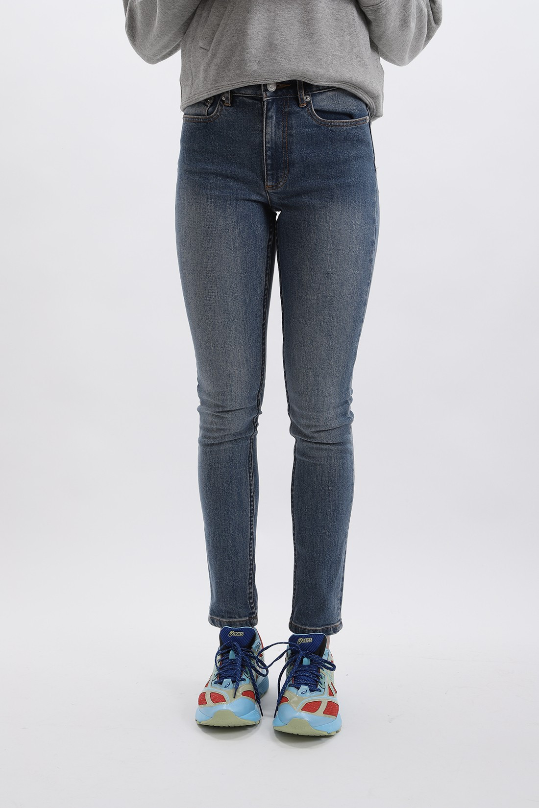 A.P.C. FOR WOMAN / Jean droit Indigo