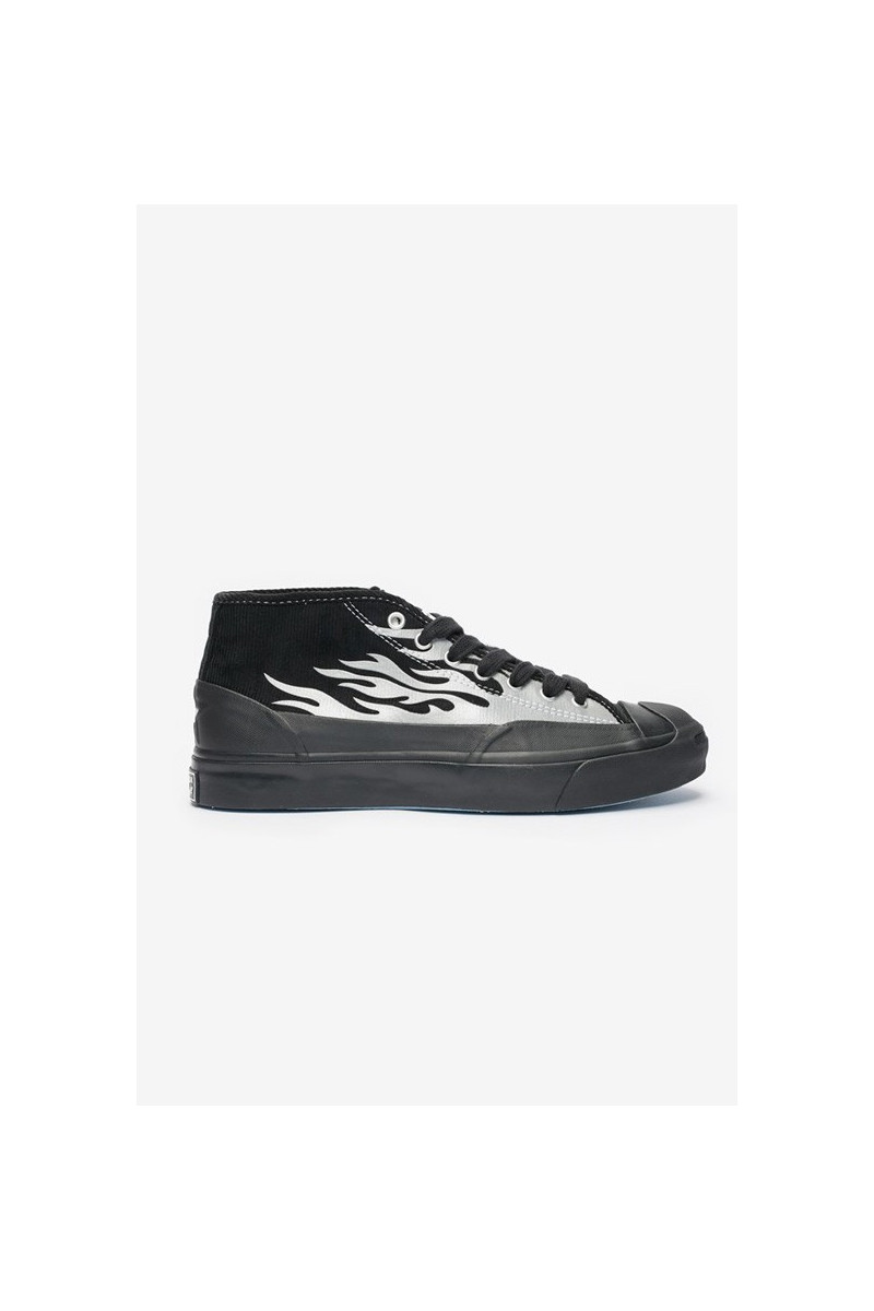 Jack purcell chukka mid Black / silver