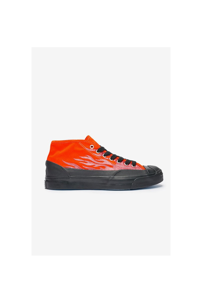 Jack purcell chukka mid Cherry tomato/black