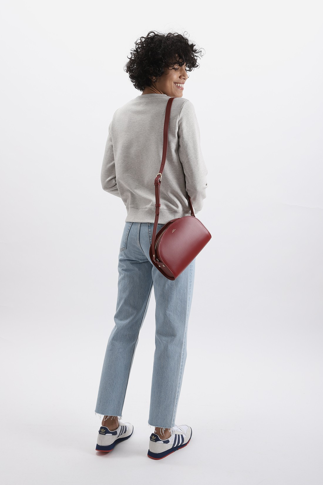 A.P.C. FOR WOMAN / Sweat tina Ecru chine