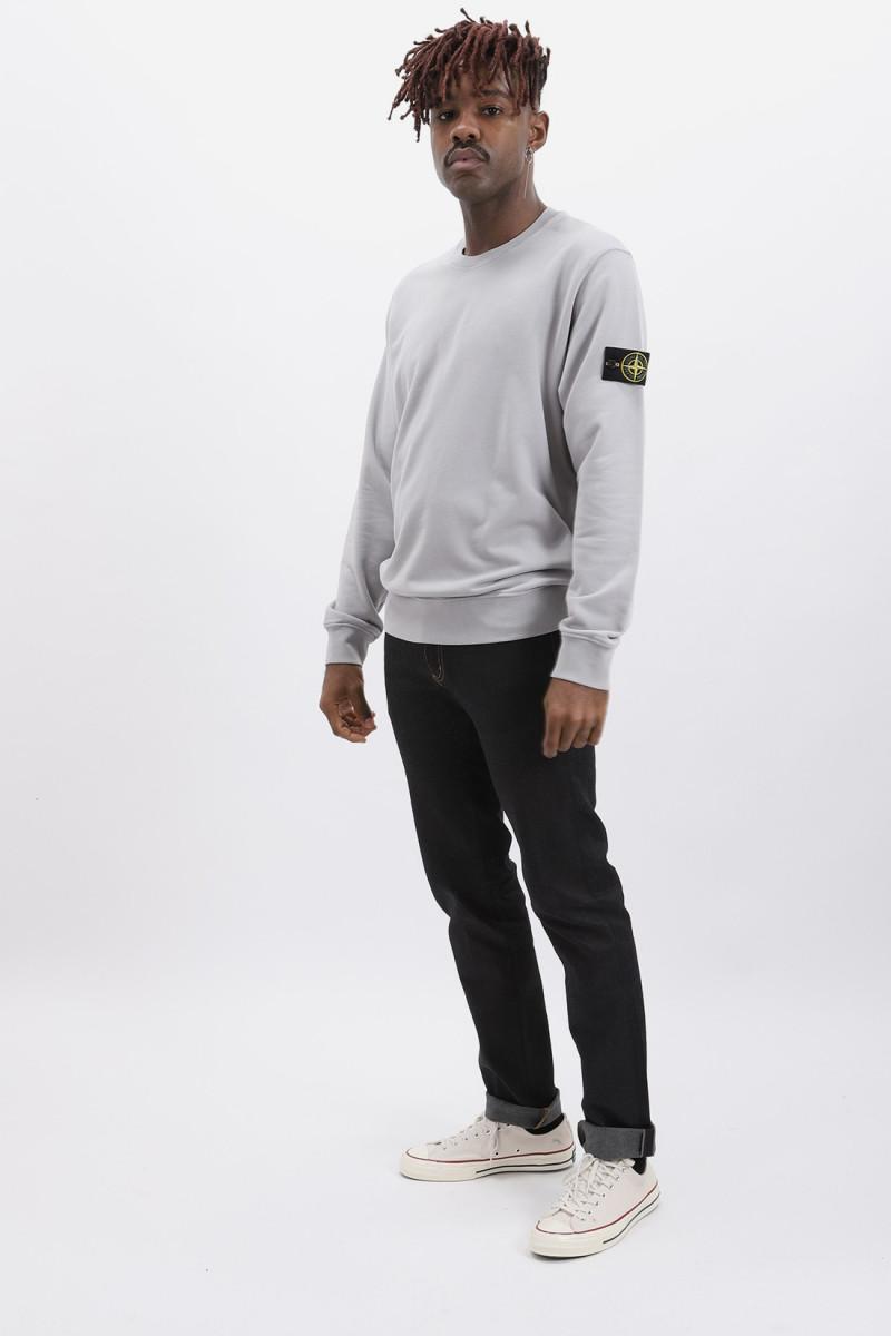 63051 crewneck sweater v0064 Polvere melange