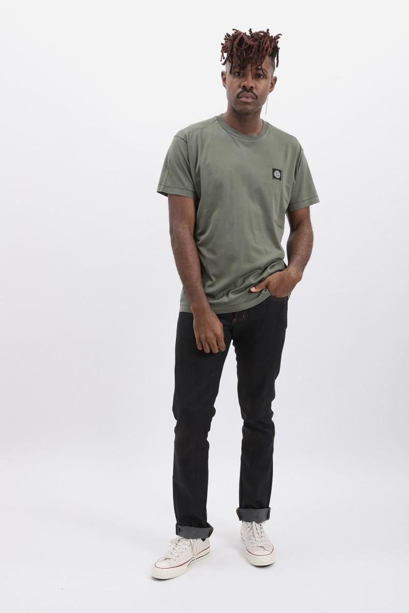 24113 logo t shirt v0058 Verde oliva