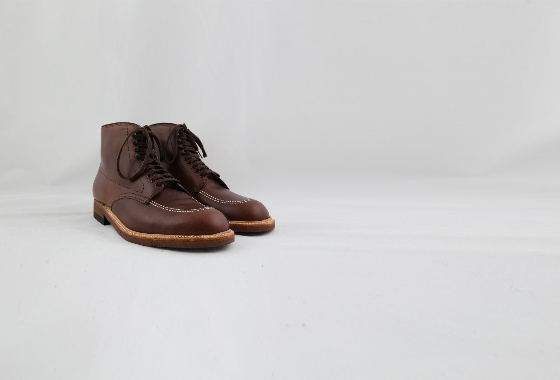 ALDEN SHOE COMPANY / 403 indy boot chromexel Brown