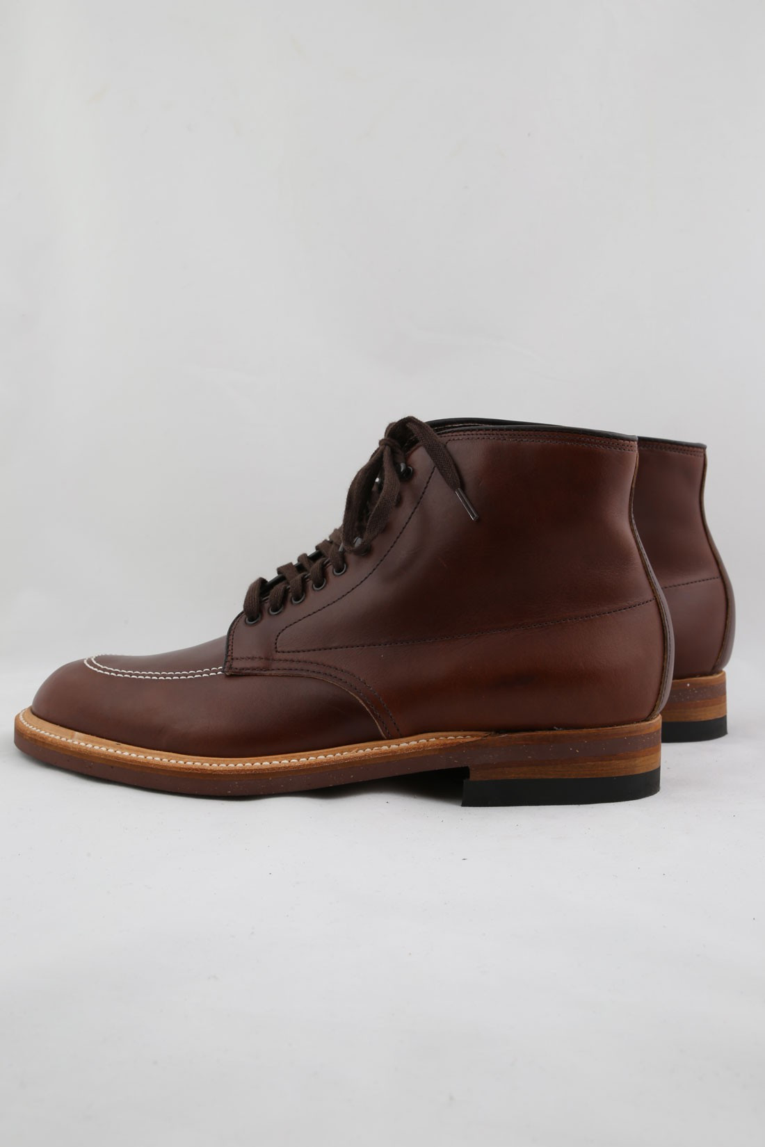 ALDEN SHOE COMPANY / 403 inidie boot chromexel Brown